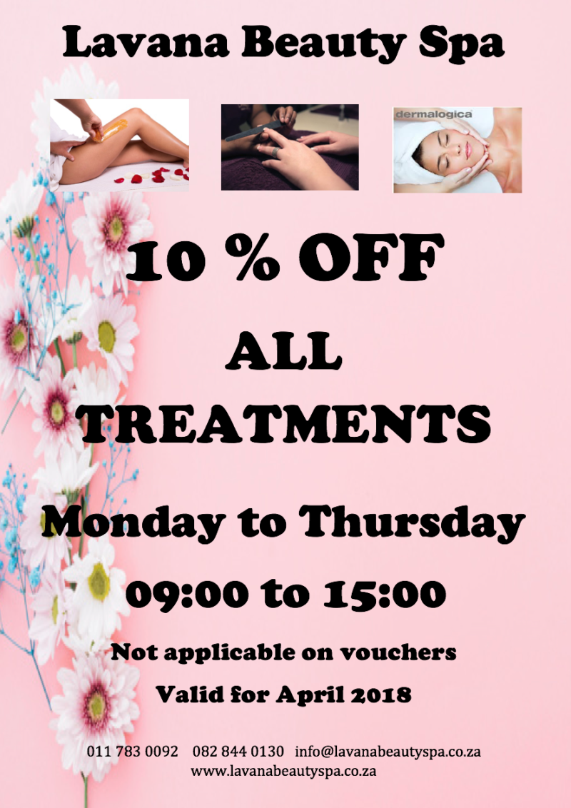 Lavana Beauty Spa Special 2018 Easter