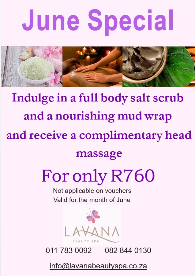 lavana beauty spa june 2018 special