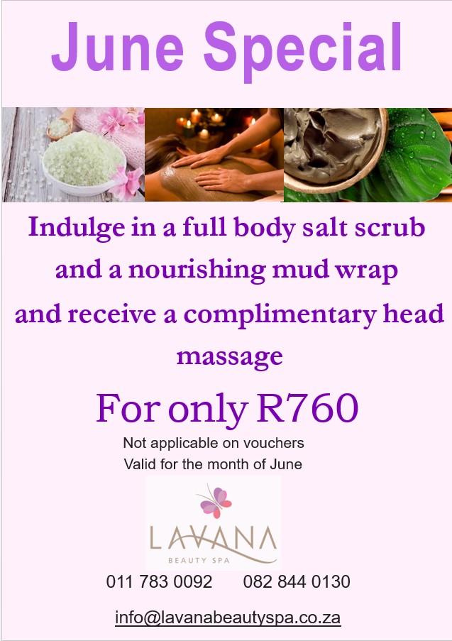 lavana beauty spa june 2018 special