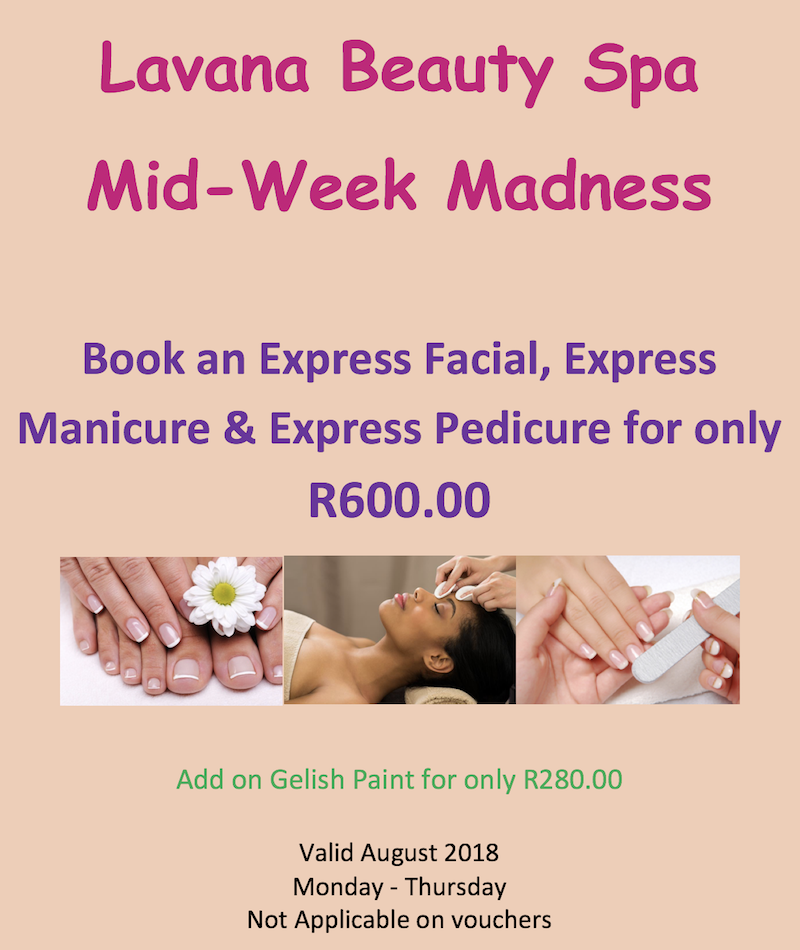 lavana beauty spa special august