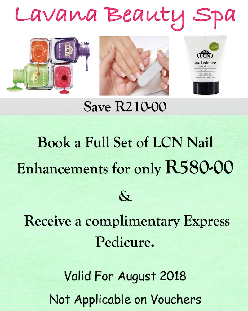 lavana beauty spa august nail enhancements special