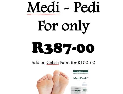 March Medi Pedi Special