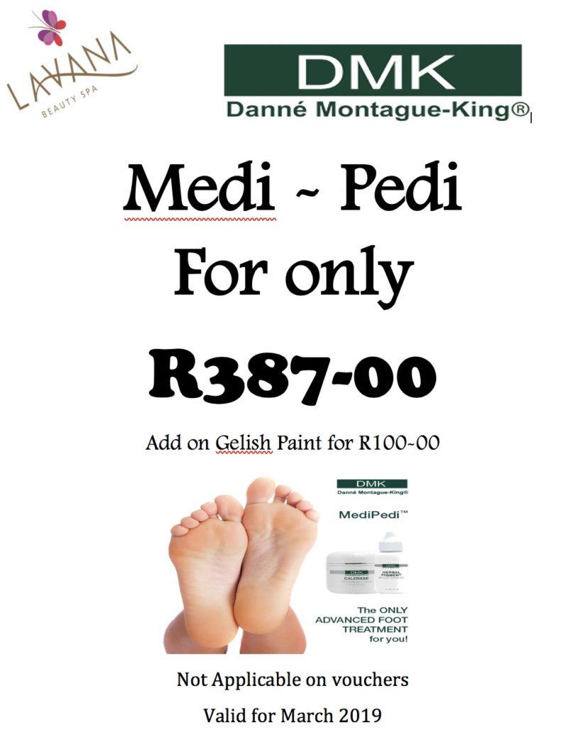 Medi-Pedi Special March 2019