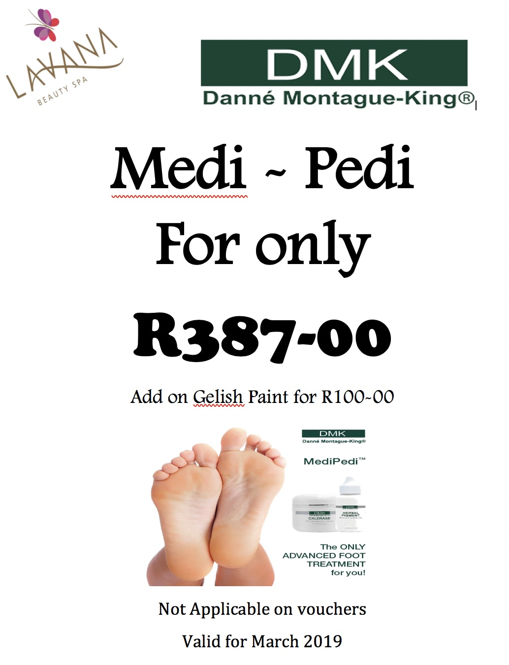 Medi-Pedi Special March 2019