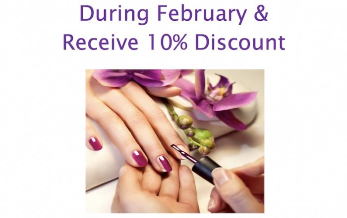 gelish manicure pedicure february 2019 special