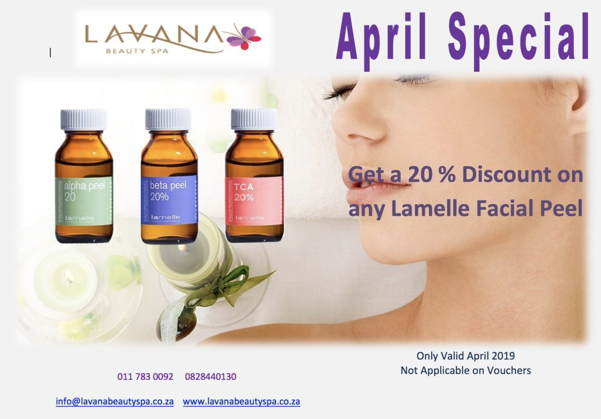 April 2019 Special Lavana Beauty Spa