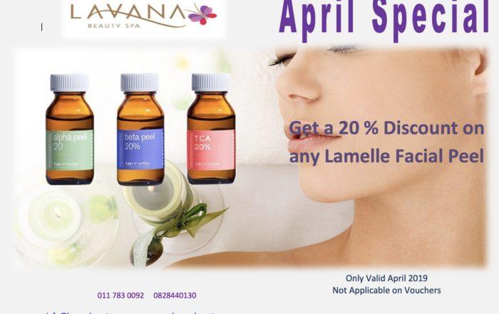 April 2019 Special Lavana Beauty Spa