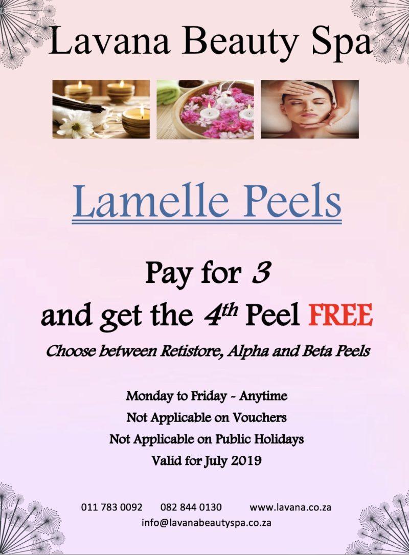 Lamelle Peels Special Lavana Beauty Spa